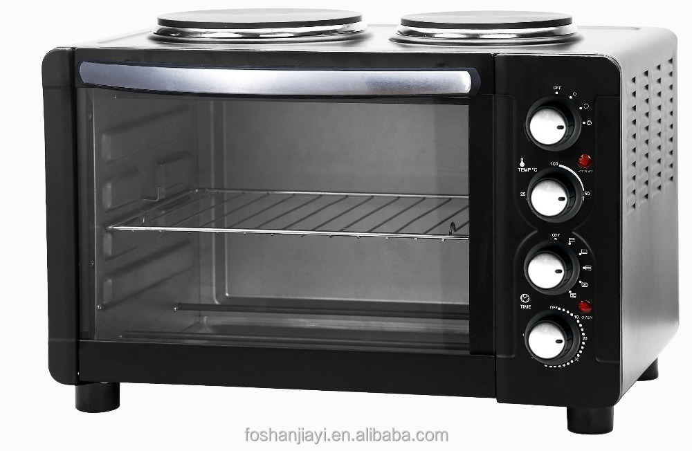 Electric oven with hotplates cooker 30L