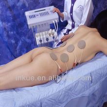 BS-668BP EMS electric muscle stimulator suit/ x body lymph drainage beauty salon equipment