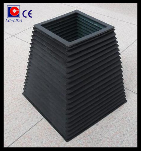 flexible square type bellow cover with high quality