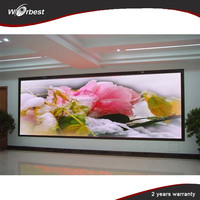 Ultra thin P4 led commercial advertising display screen,indoor full color vivid colors led bildschirm