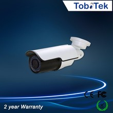 metal case cctv waterproof security camera 1080P 2.0MP outdoor bullet 42leds AHD Camera with 2.8-12mm Manual Varifocal