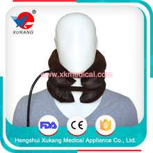 Cervical Vertebra Tractor Belt & Neck support air traction with single tuba and all-cloth