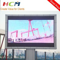 Advertising P8 Full Color Led Display Outdoor Unipole Billboard