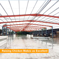 Different types of poultry house for broiler