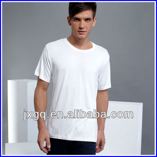 cheap white wholesale bulk plain solid color t shirt in China