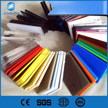 Factory 100% Bayer virgin flexible plastic polycarbonate 15mm acrylic project sheet with nylon for Vaccum Forming