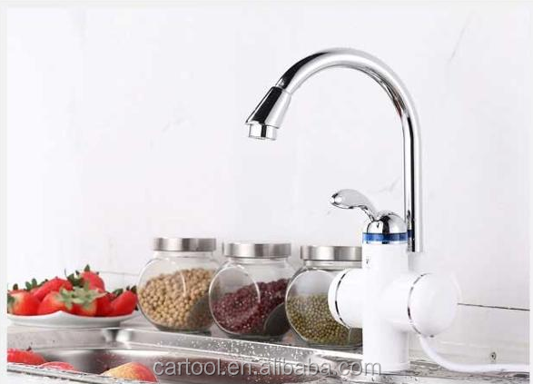 Top quality instant water heater faucet/Sanitary Basin Electric Water Tap