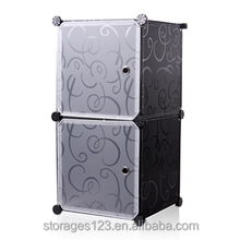 Small size pp storage cube for living room or bathroom/small plastic box
