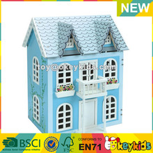 wholesale baby wooden doll houses for sale educational kids wooden miniature doll houses for sale W06A038