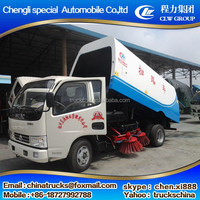 Alibaba china design small street sweeper truck