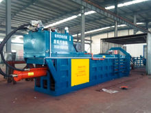 Automatic scrap material matel iron Aluminum Press Baler compress machine