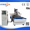 wood cnc milling machine 2 heads auto tool changer with drill system