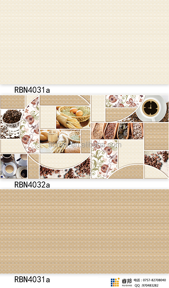 300x600 Interior glazed decorative Ceramic Digital Wall Tiles for bathroom and kitchen