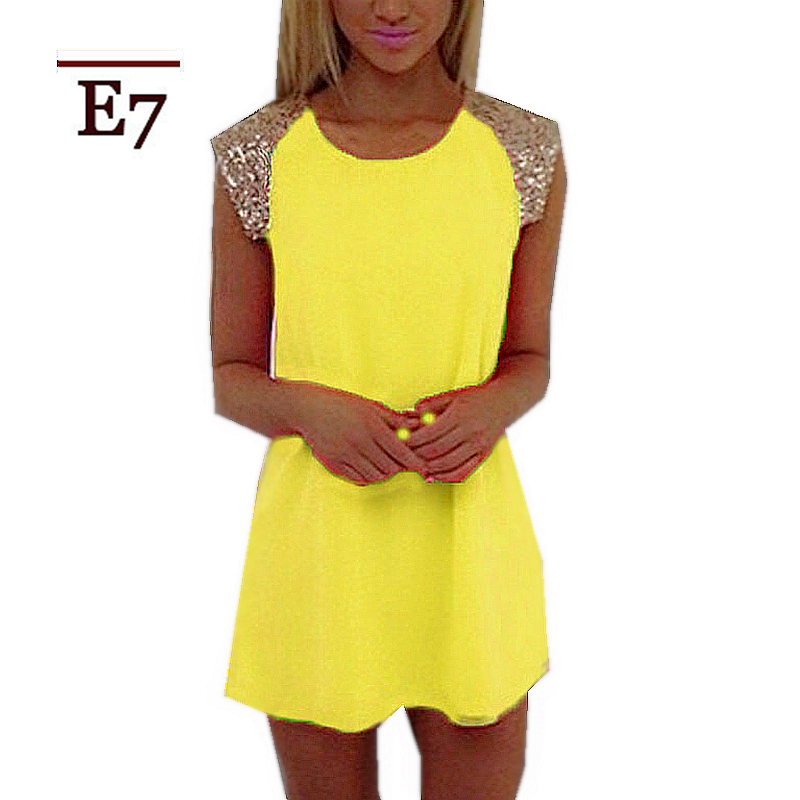 Get Quotations · Neon Yellow Dress Sexy Shoulder Hollow Out Fashion Design  Dresses Women 2015 New Arrival Cheap Birthday f309f8060b30