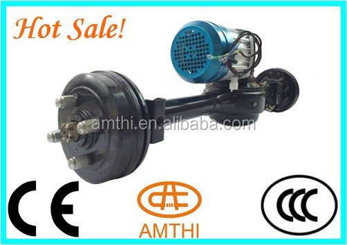tricycle rear differential axle for e-rickshaw, atv rear axle