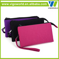 Multi- functional fabric travel case handbags for mobile phone card and money