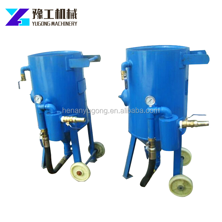 Wholesale Sandblaster Wet Sandblasting Machine For Sale Portable Water Sand Blaster For Road Construction