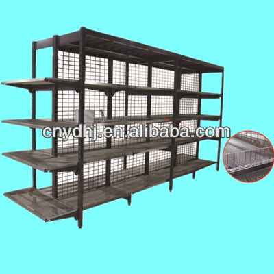 Zinc Plated Australia Style Supermarket Racks Display