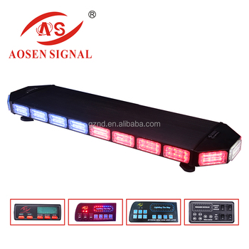 5years Warranty best quality Police emergency flashing amber warning LED light bar