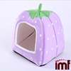 Strawberry Cotton Soft Dog Cat Pet Bed House