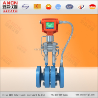 Gas flow meter integrative orifice flow meter