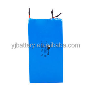 China lithium battery Model: YJ-12V 2,200mAh 18650 rechargeable batery with PCM andPCB 18650 12v 48*65mm