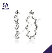 925 sterling silver earring jewelry customized wholesale pictures of gold earrings