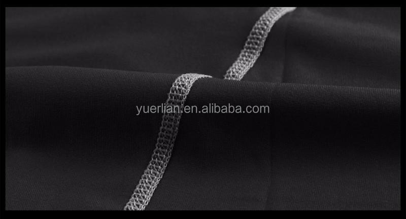 YEL 100% poliéster dry fit camisas moda clássica camisa de compressão para esportes roupas de fitness colete 1006