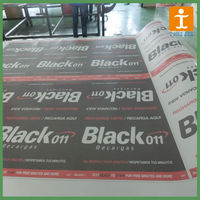 high quality printing glass One way vision sticker