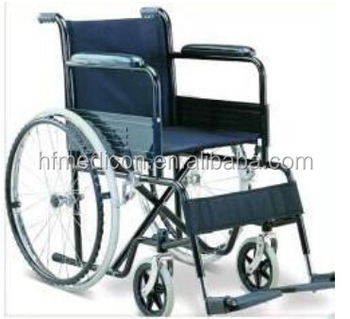 Portable aluminum wheel chair
