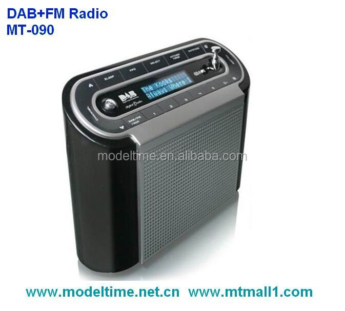Portable DAB+Radio with RDS