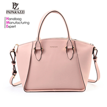 5214- 2017 Paparazzi handbag factory Fashion lady PU leather tote bags from bag market in Guangzhou