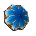 Customized promotional heat transfer sublimation printing eiffel tower umbrella,chinese photo print umbrellas