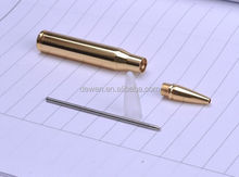 2016 design MINI Bullet pen METAL,,Customized Brass Bullet pen with cross refill