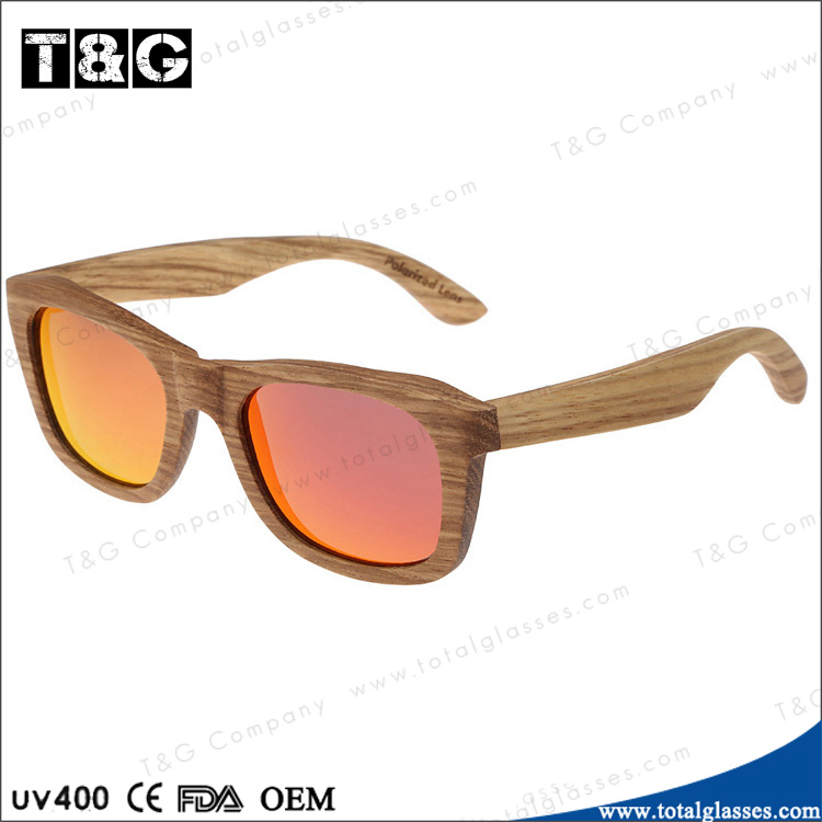 Custom Handmade sunglasses polarized driving glasses natural wood high quality sun glasses