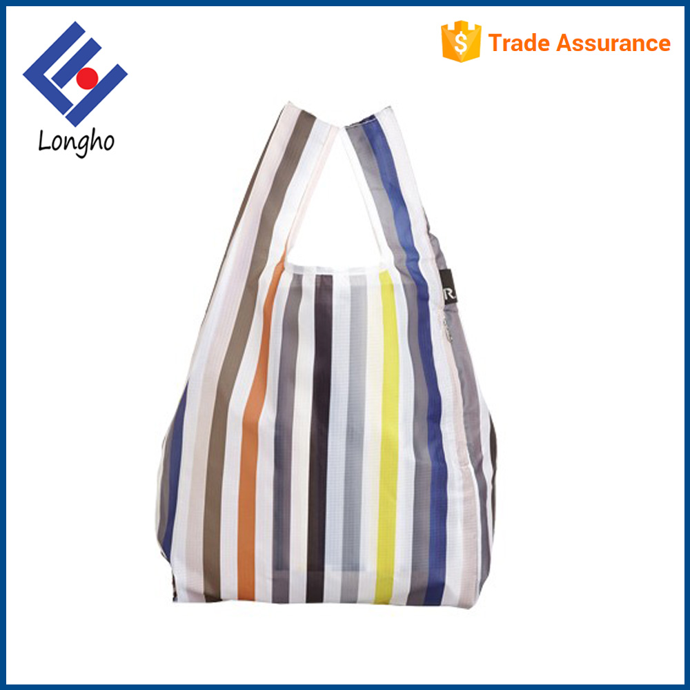 Full color printing eco shopping bags wholesale different design environmental shopping carrier bag
