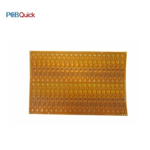 Plat flexible de carte pcb d'or d'immersion fpc flexible de panneau de carte pcb en cuivre