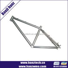 Gr9 titanium alloy titanium road bike frame from china