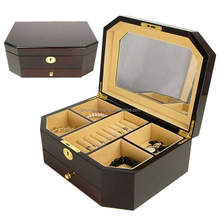 The newest painted wooden jewelry box for sale Manufacturer