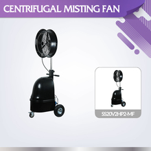 Farming and outdoor used portable SS20V2HP2-MF high pressure cooling mist fan