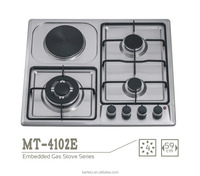 lpg gas kitchen appliances four burner electric gas stoves