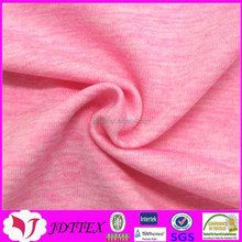 2015 popular pink 48%polyester 44%nylon 8%elastane sportswear fabric for clothing