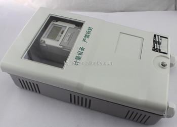single phase electric meter box