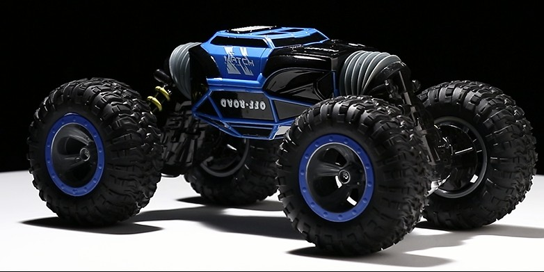 2018 new climbing twisted buggy big toy rc stunt car