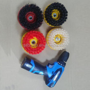 2016 most popular Nylon drill disc brush with your good choice