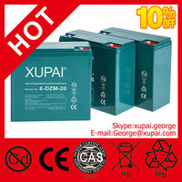 12V 22Ah xupai 6-DZM-20 6DZM20 Electric Scooter Bike Sealed Battery - 4 Pack