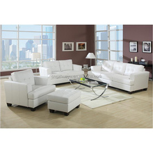 LC2 leather sofa set high quality living room furniture chair/loveseat/ sofa