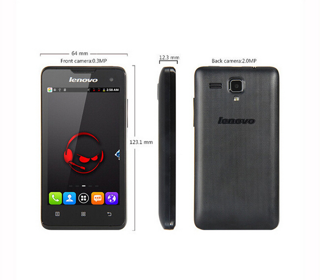 cheapst mobile phone Original Lenovo A396 Made in China Cheap Mobile Phones