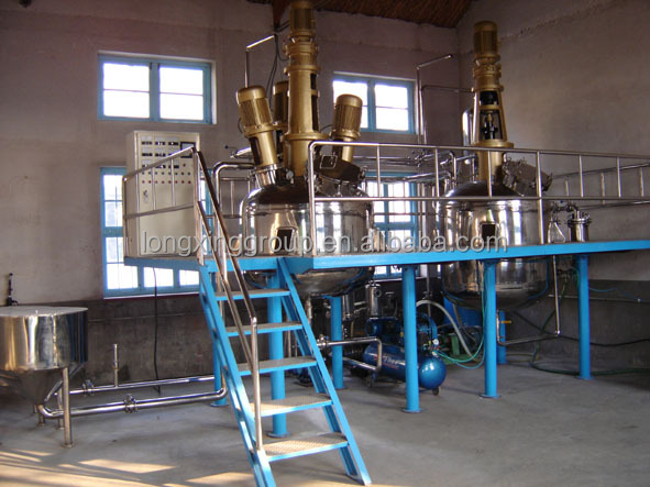 Machine for making paint production line , high quality paint mixing machine