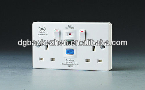 0230SPW RCD 2 gang switch